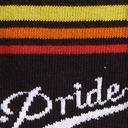 fabric detail of Team Pride - LGBTQ+ Pride Knee High Socks Rainbow - Toddler