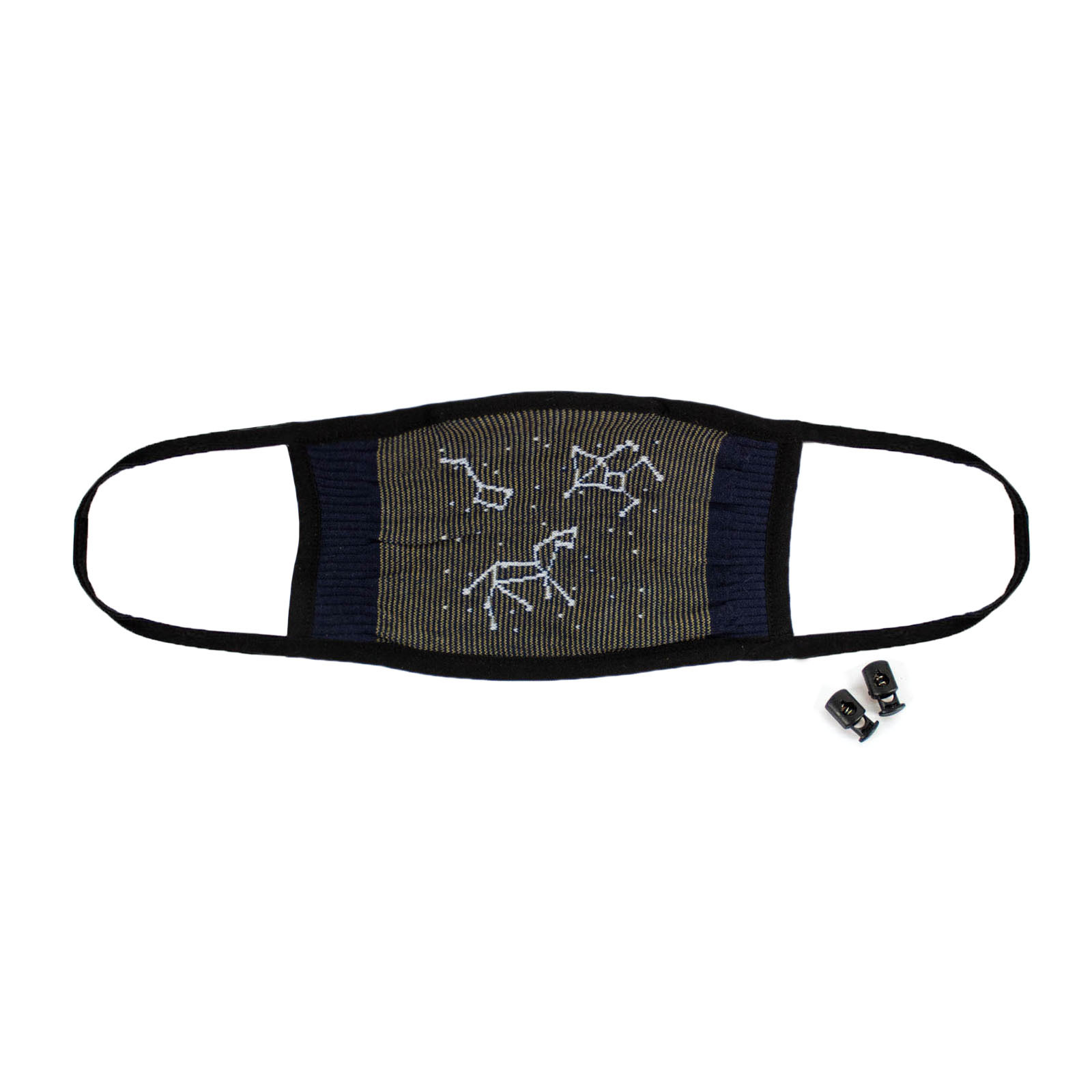 Stargazer - Constellation Face Masks Blue - Unisex in Navy