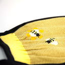 fabric detail of Buzz Words - Bee Face Masks Yellow - Unisex