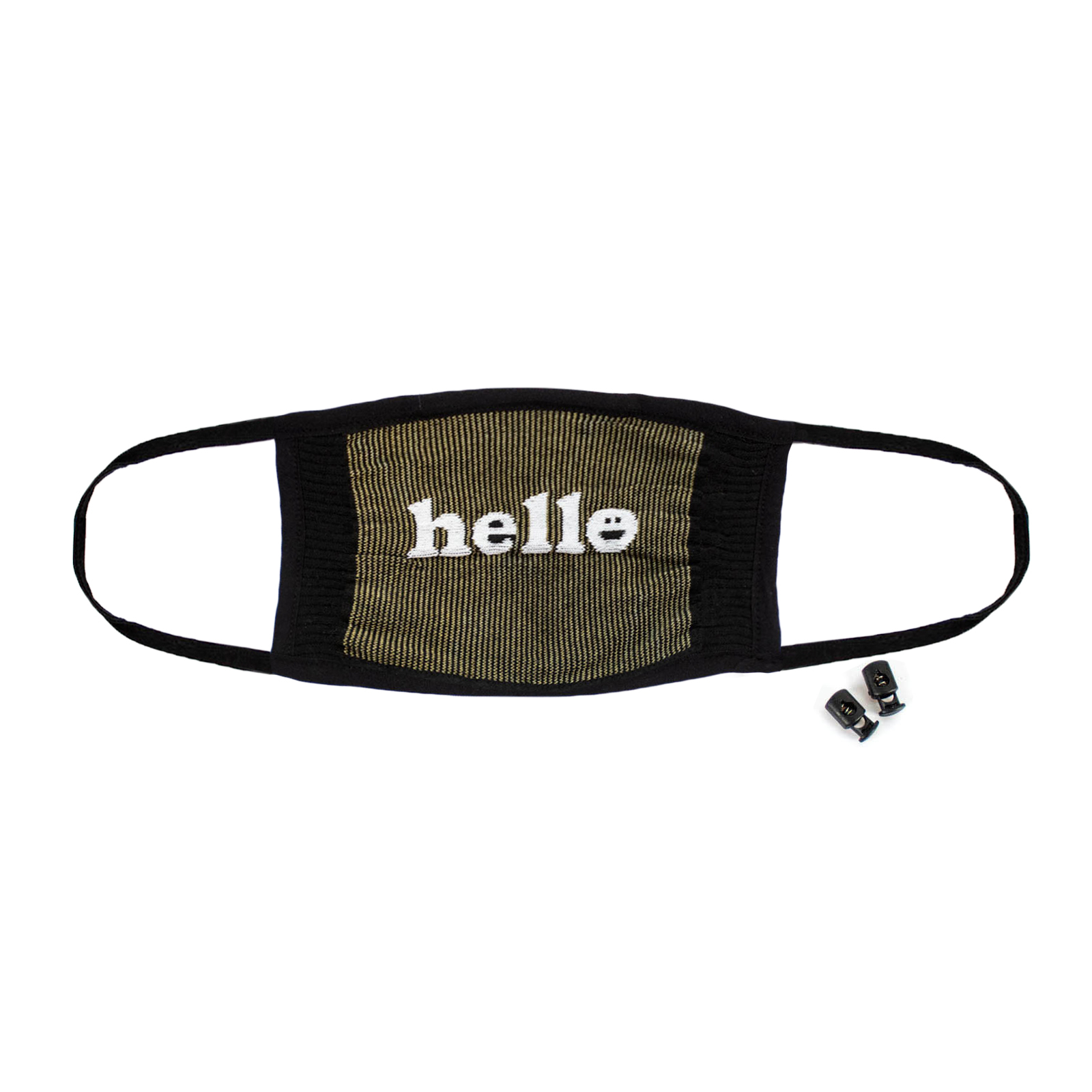 You Had Me at Hello - Statement Face Masks Black - Unisex in Black