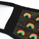 fabric detail of The Rainbow Collection - Multicolor Face Masks Rainbow - Unisex